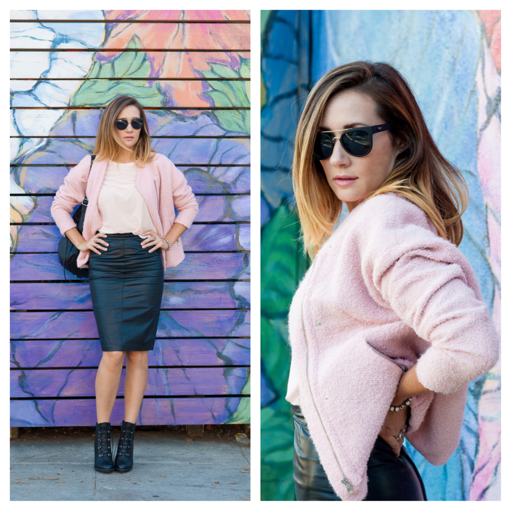 Pink Jacket,  Zara