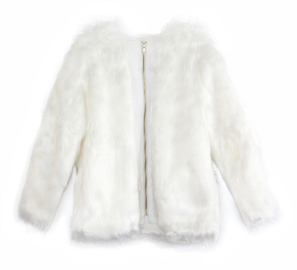 Monroe faux-fur jacket, $115