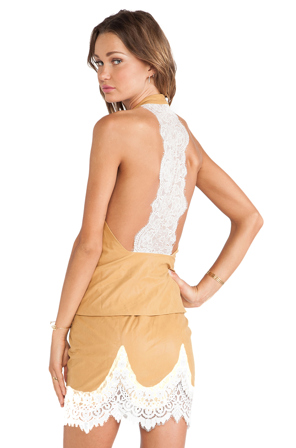 Giddy Up Halter Top For Love and Lemons