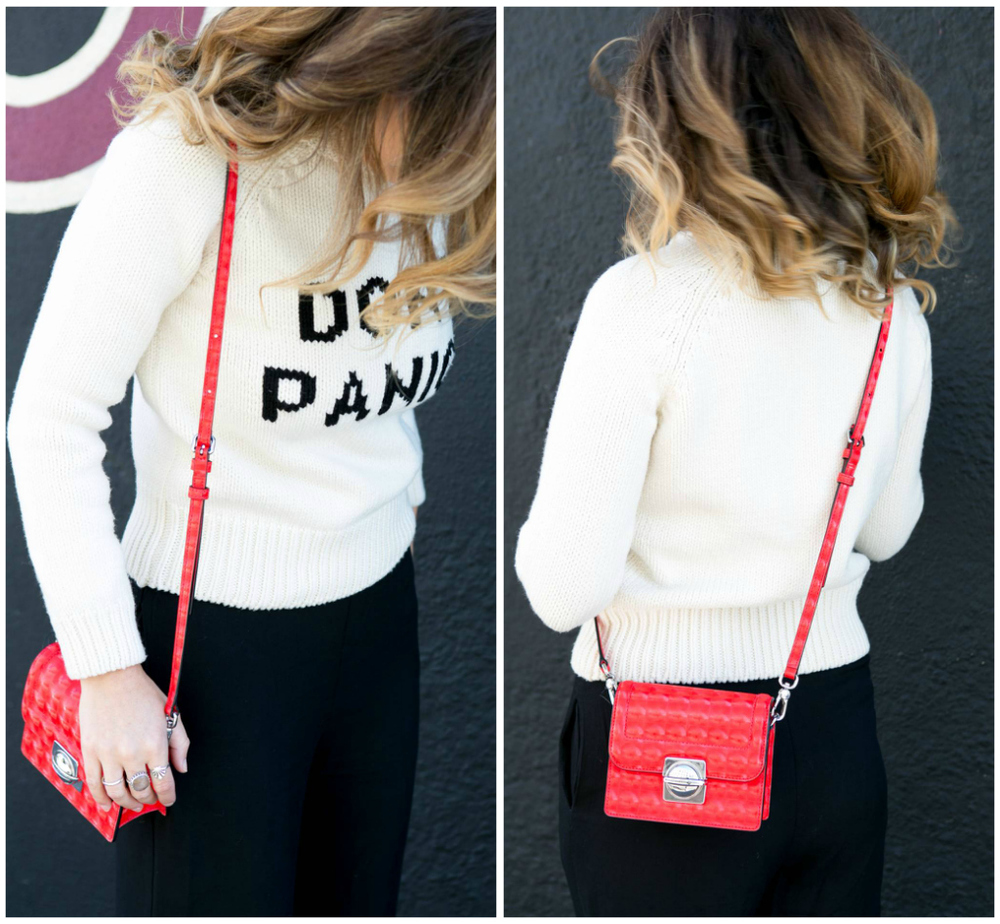 Red hologram cross-body, Marc by Marc Jacobs