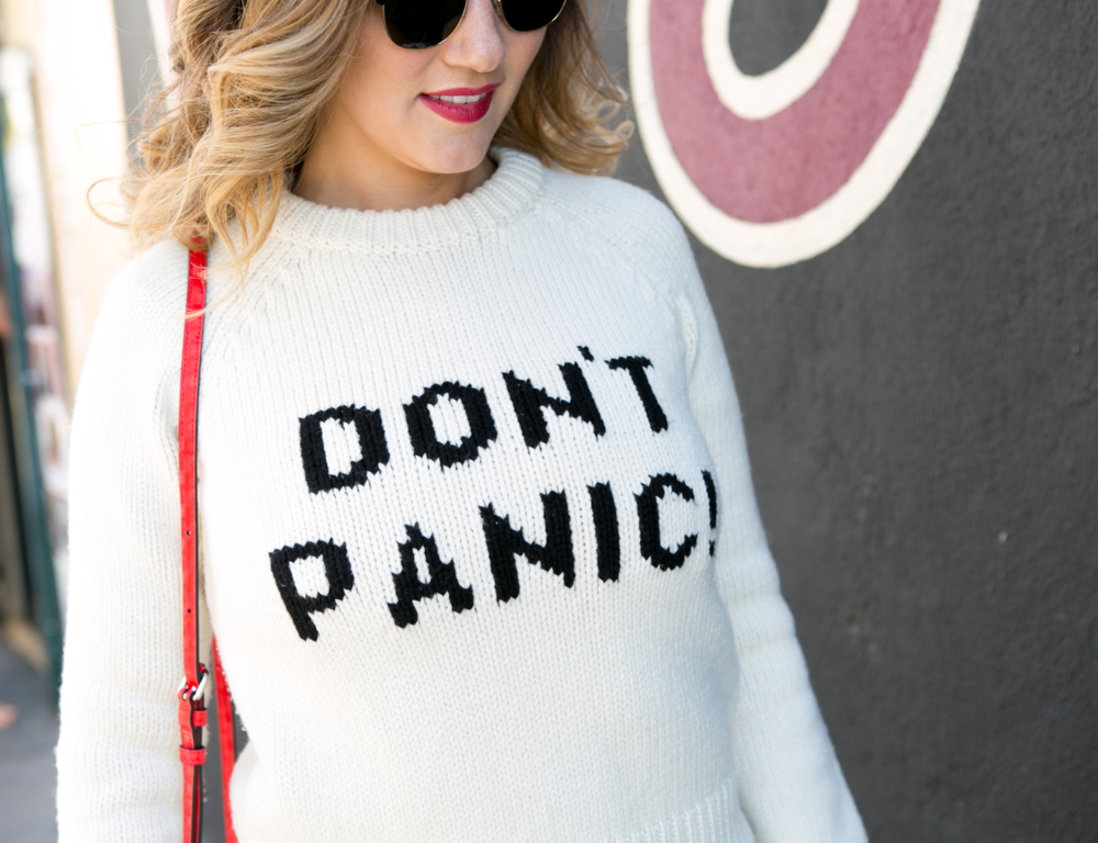 Don't Panic! Sweater-  Marc by Marc Jacobs
