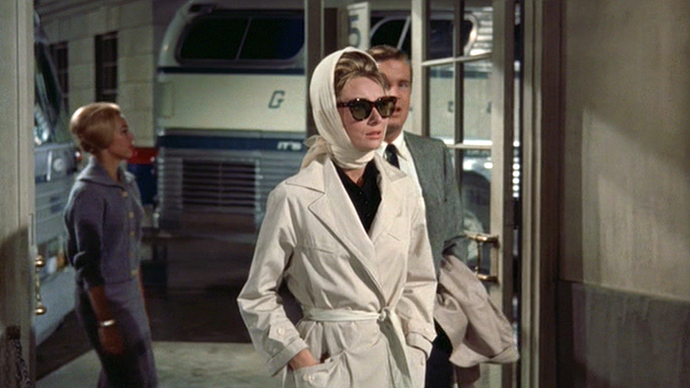 Audrey Hepburn in Breakfast at Tiffany's.