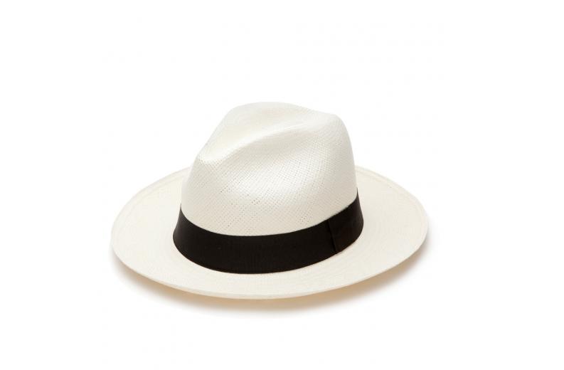 Cuyana panama hat black ribbon