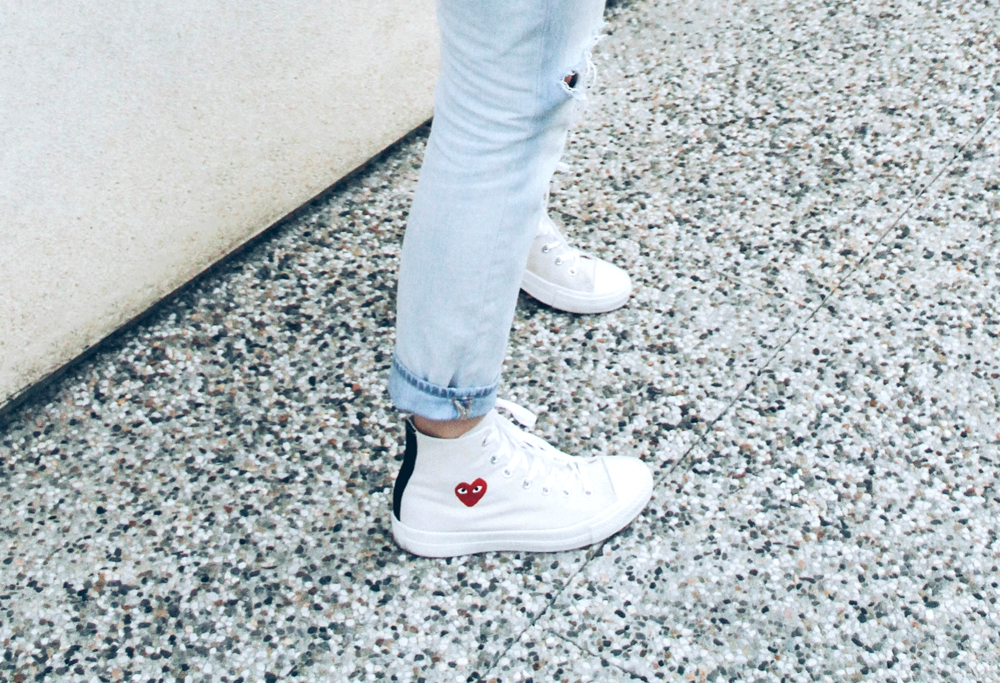 commes des garcons chuck taylors the style sauce fashion blog street style