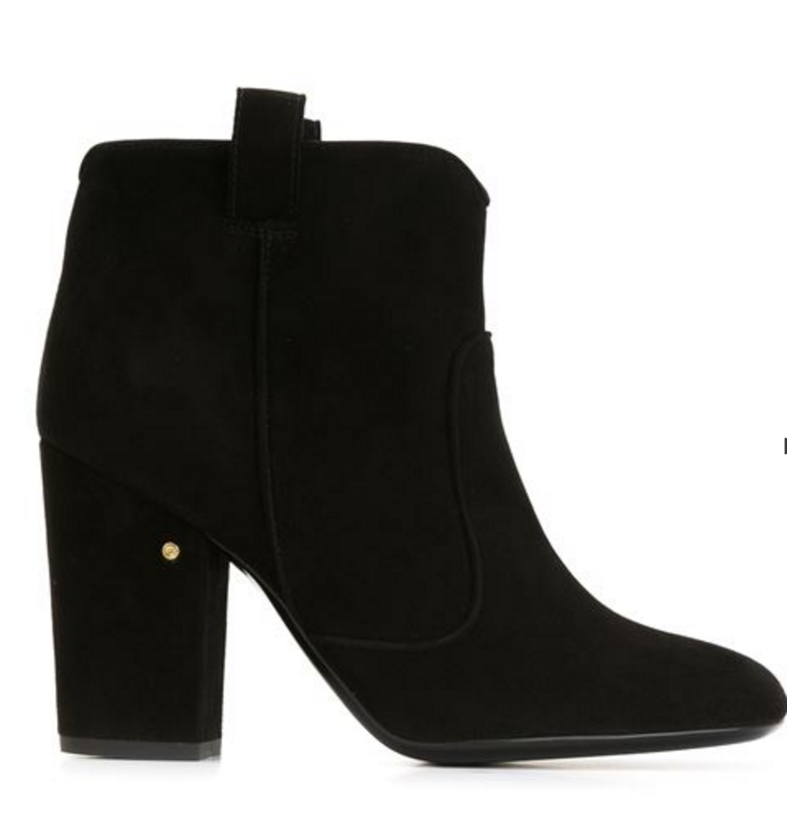 Laurence Dacade Black Heel Booties