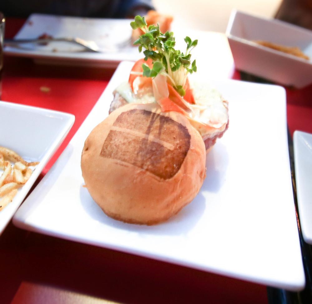 Umami Ahi Tuna Burger