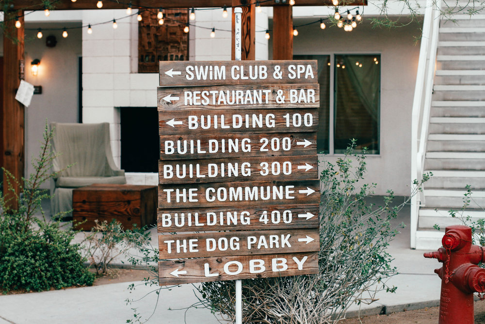 ace hotel and swim club palm springs sign travel blog the style sauce