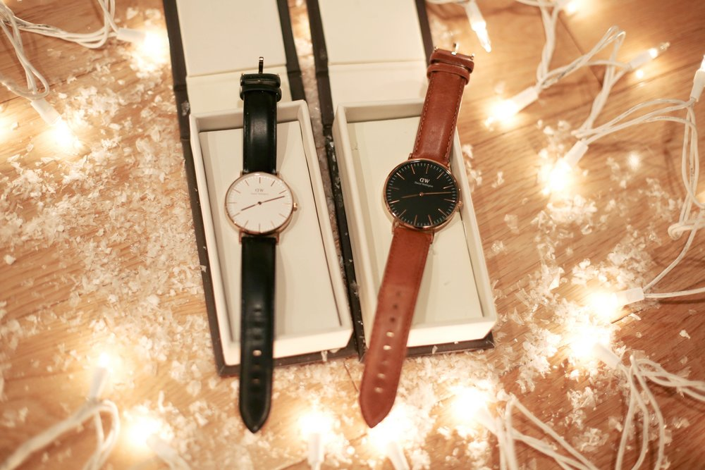 daniel wellington his and hers