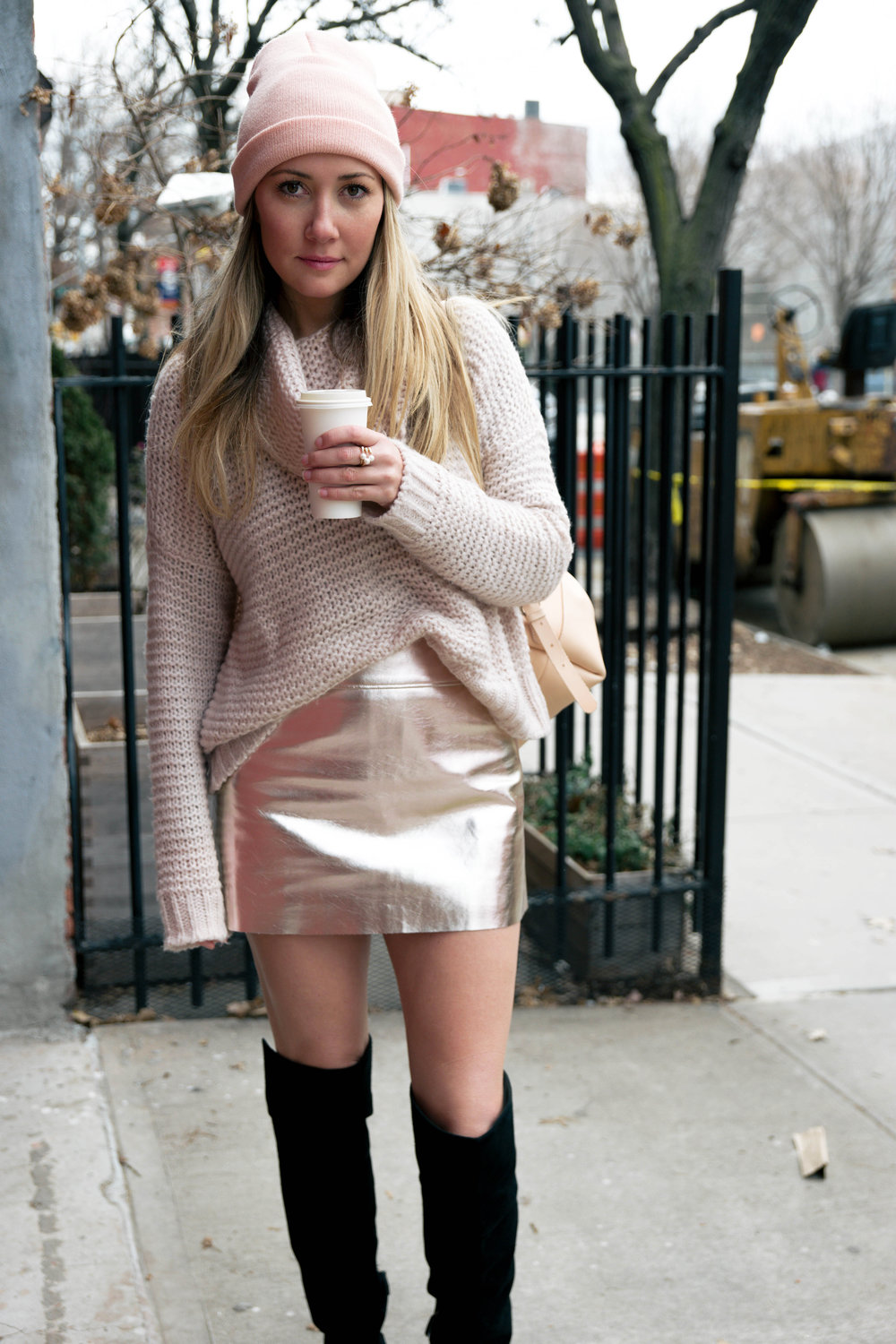 The Style Sauce Blog Pink Outfit Street Style NYC