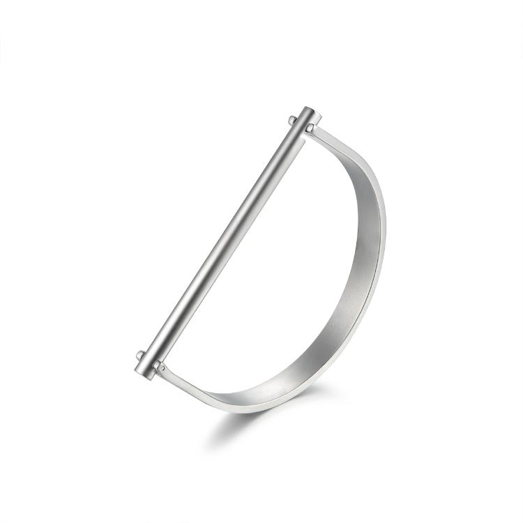 The Colby cuff, in silver