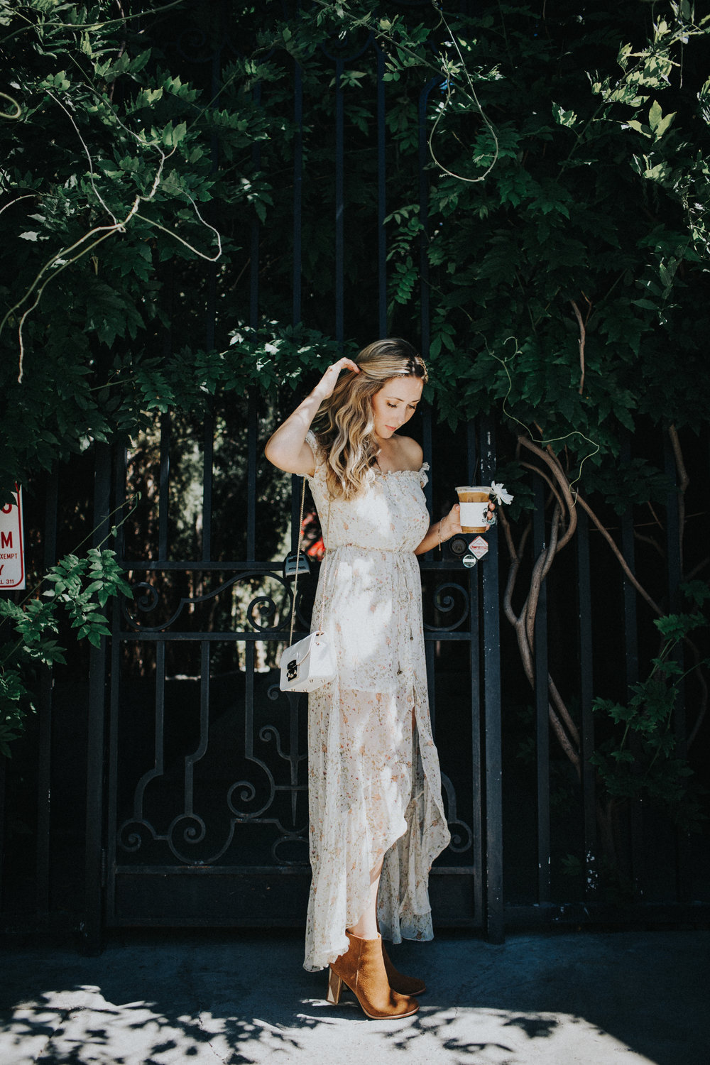 The Style Sauce blog floral maxi dress los angeles fashion blog