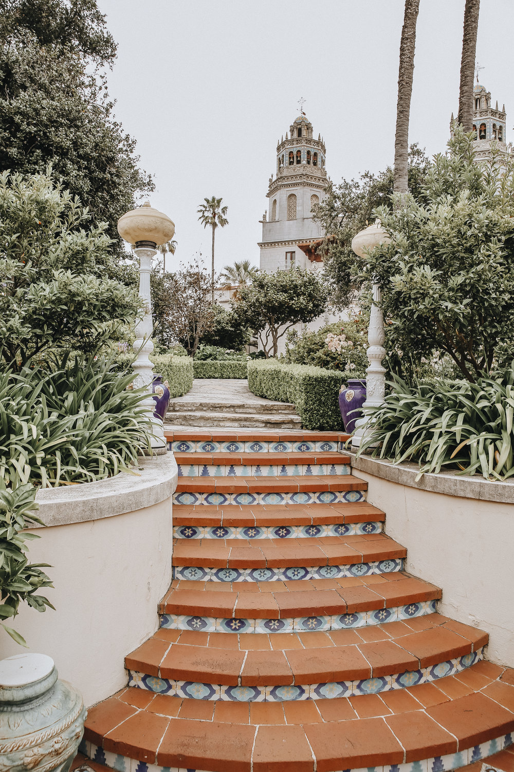 Hearst Castle gardens // visit california // travel blog // San Simeon // The Style Sauce