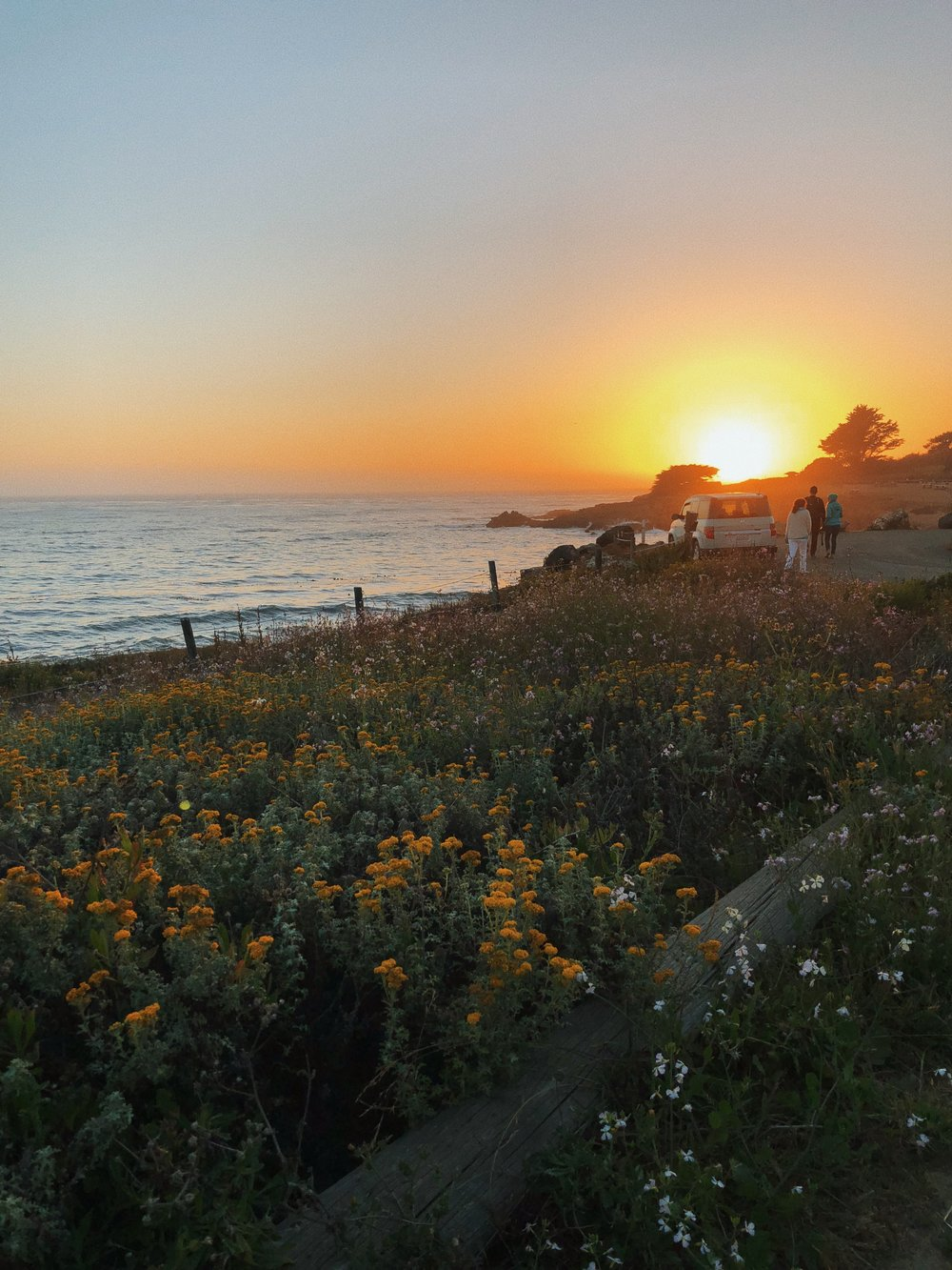 Sunset in Cambria, CA // The Style Sauce // Visit California