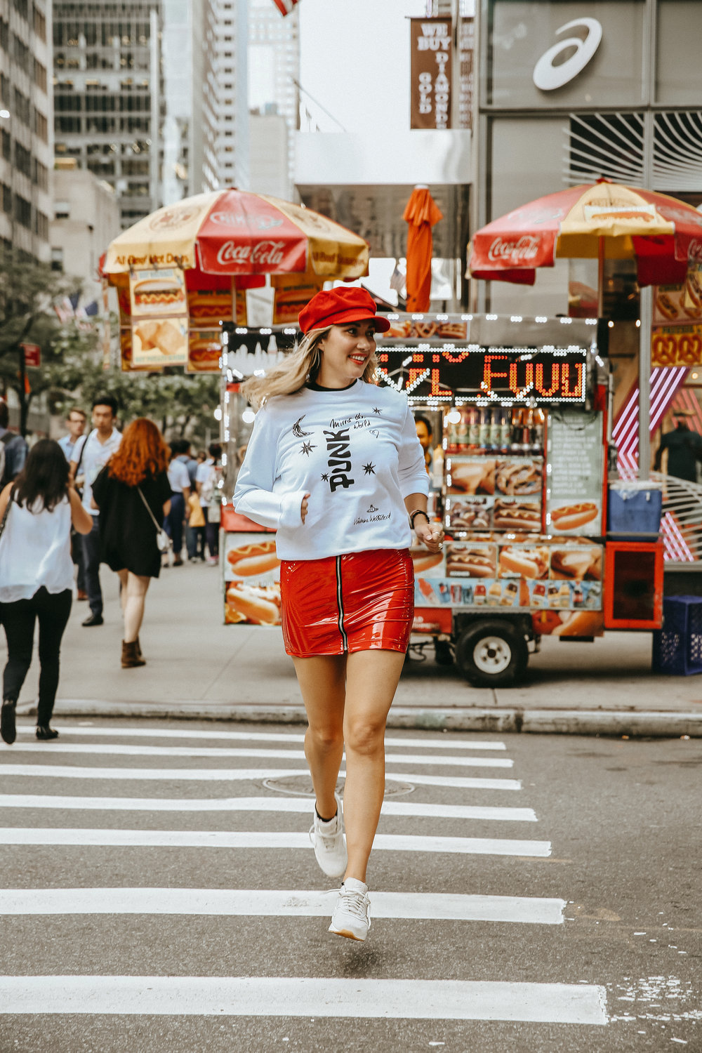 The Style Sauce // Fashion blogger // New York City street style // Yoox Soccer Couture // Vivienne Westwood sweatshirt