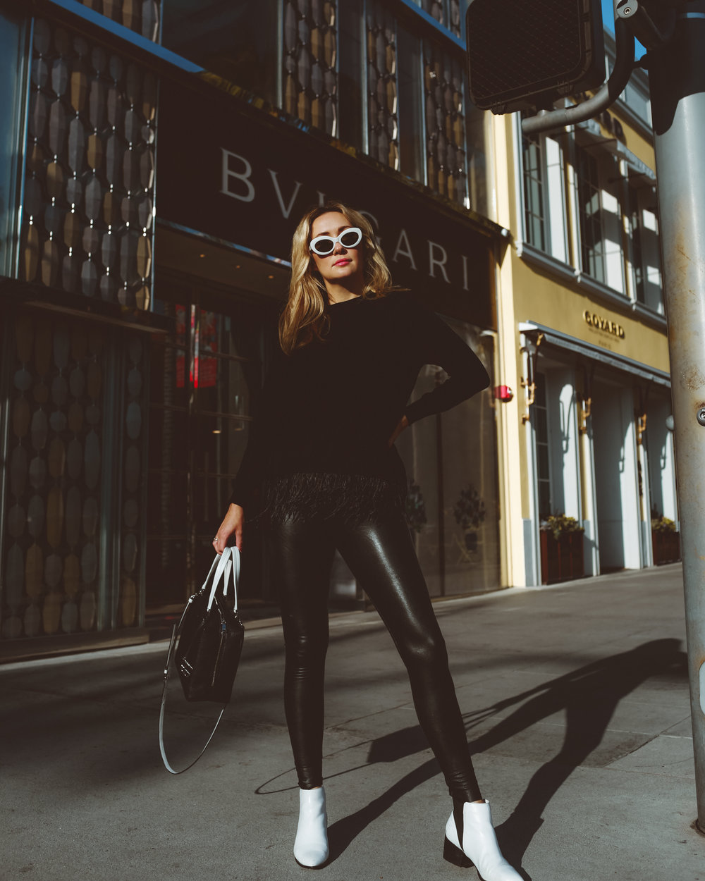 The Style Sauce fashion blog all black outfit