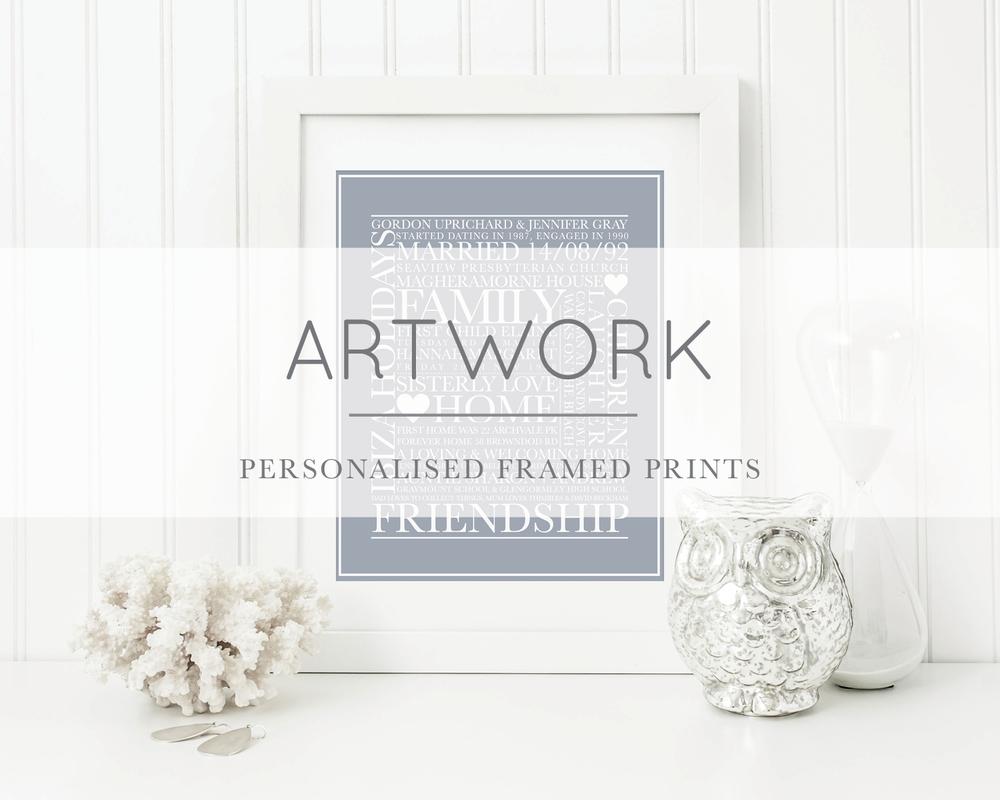 The White Letter Artwork
