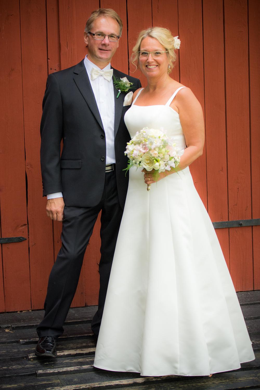 Först ut var Kai och Carina som gifte sig den 16 juli i Katrineholm