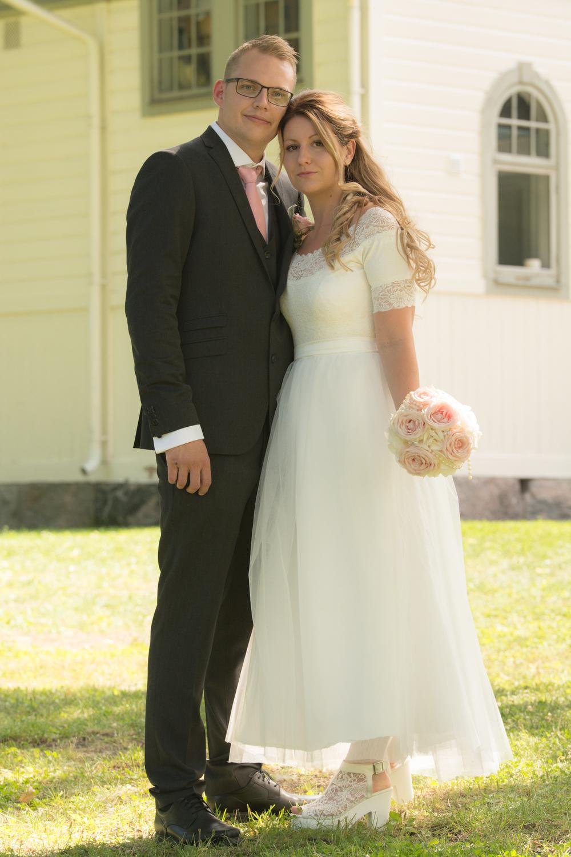 Helgen efter var det dags igen, då Linnea och Emil slog till i Drothems kyrka i Söderköping.
