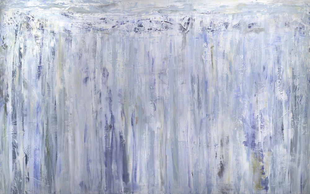 """Glacier"" - 96 x 60"
