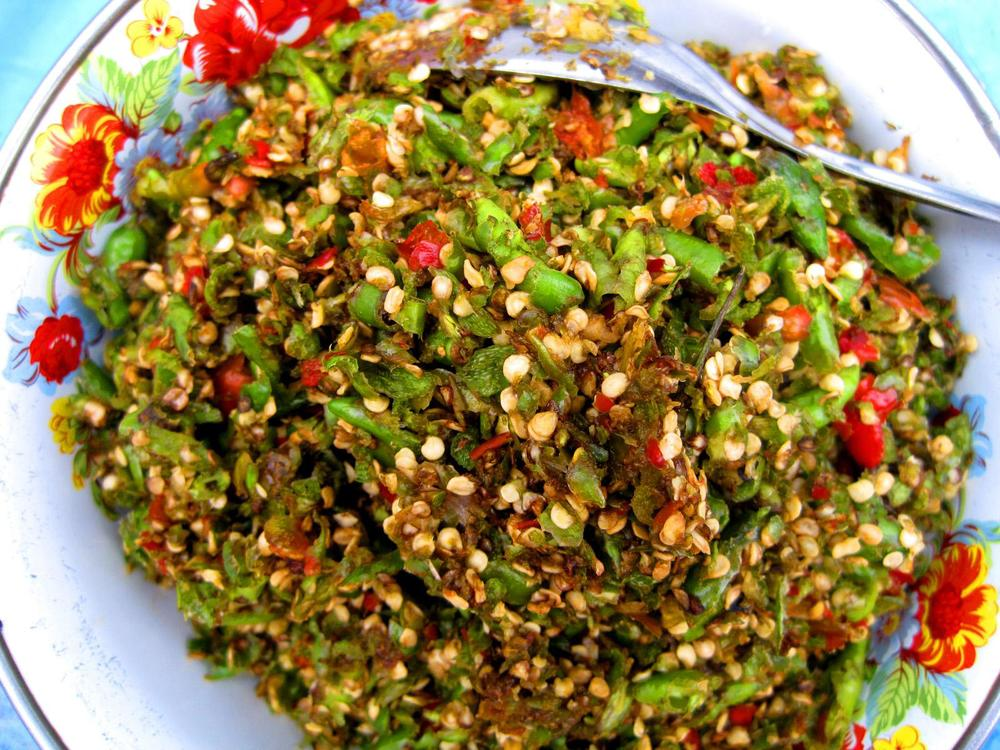 Burmese tea-leaf salad might inspire your friends to start seeking out more recipes from this fascinating culture.