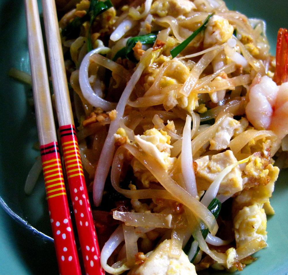 When I serve my friends homemade pad Thai, I'm inviting them to share in something that is special to me.