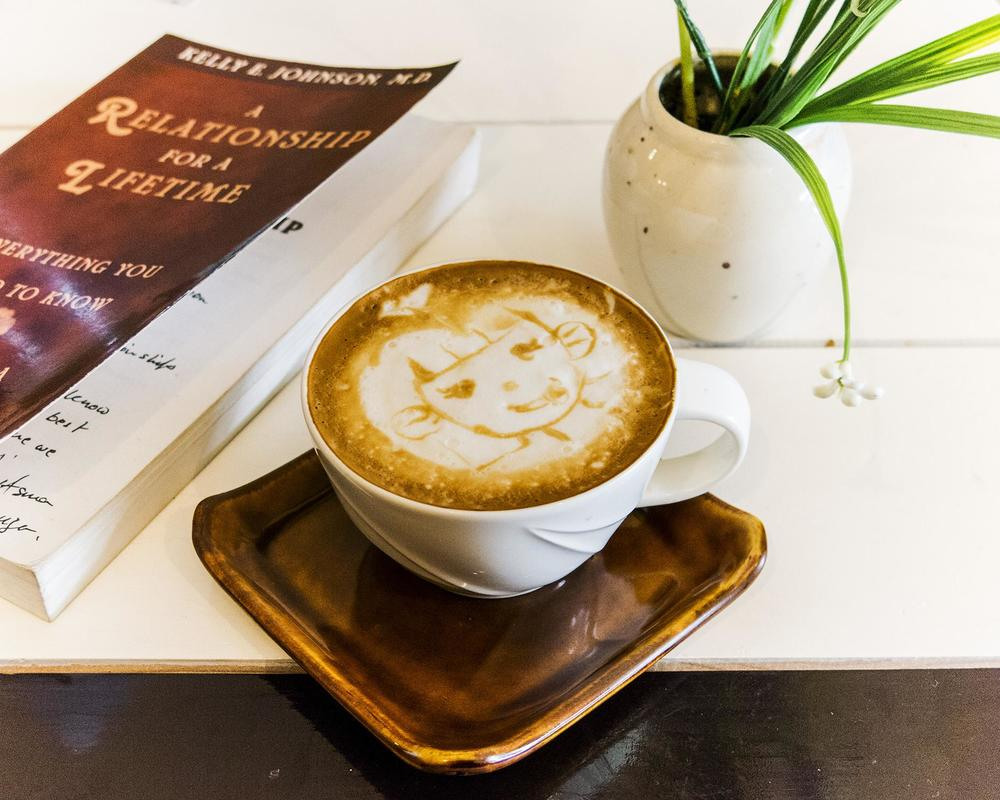 Latte art can range from simple renderings to sophisticated designs — being surprised is half the fun! Photo by Kimberly Bryant