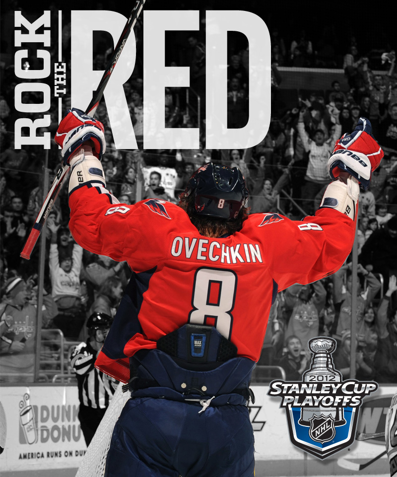 Alex Ovechkin 2012 Stanley Cup