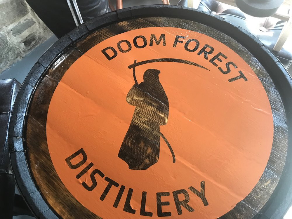 We are so pleased with how the logo turned out.  its a great addition to our barrel tables.
