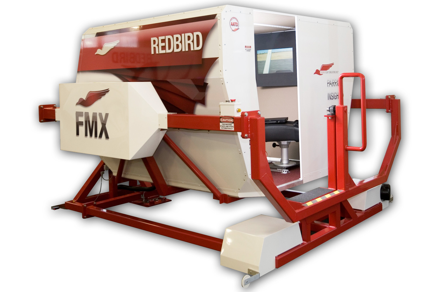 Redbird FMX Full Motion Flight Simulator