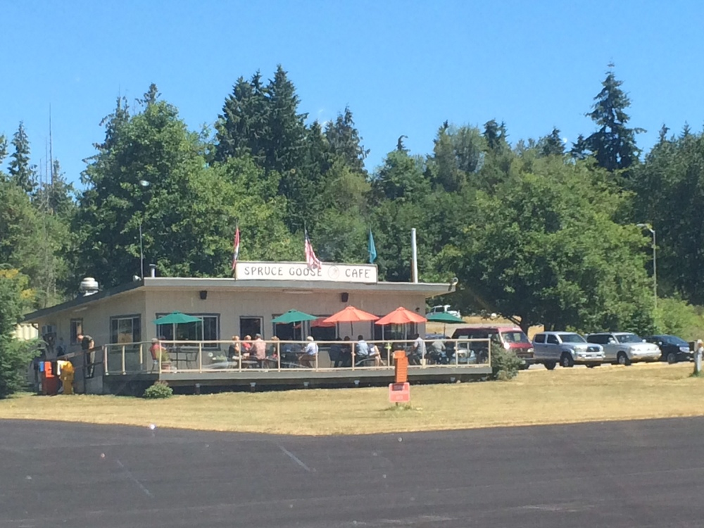 The Spruce Goose Cafe at Jefferson County 0S9 . . . someday I will sample their fabulous pies!