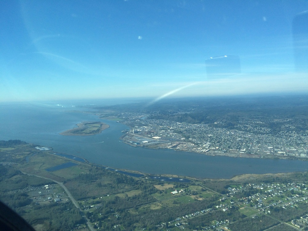 Aberdeen and Hoquiam ... Airport in sight!