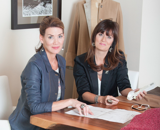 Marianne and Pamela co-founders of Patina & Hue
