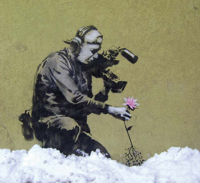 Banksy: Park City, Utah  |  photo credit: www.bansky.co.uk