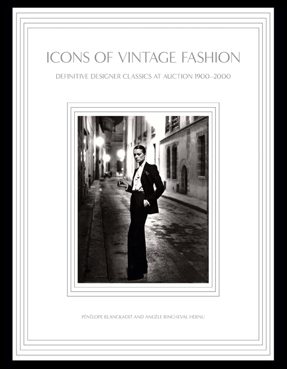 Icons of Vintage Fashion—cover by Penelope Blanckaert and Angele Rincheval Hernu