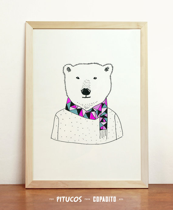PITUCOS  DELIGHTFUL GICLEE PRINTS FOR YOUR CHILDS ROOM