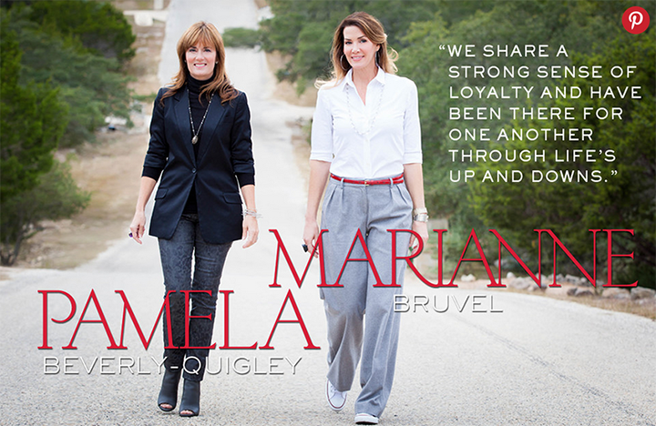 Pamela + Marianne in Texas |   1010 Park Place  article | photo by  Jennifer Denton