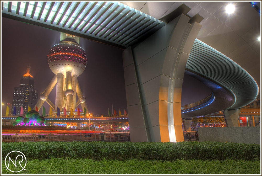 Night Photography in Shanghai HDR