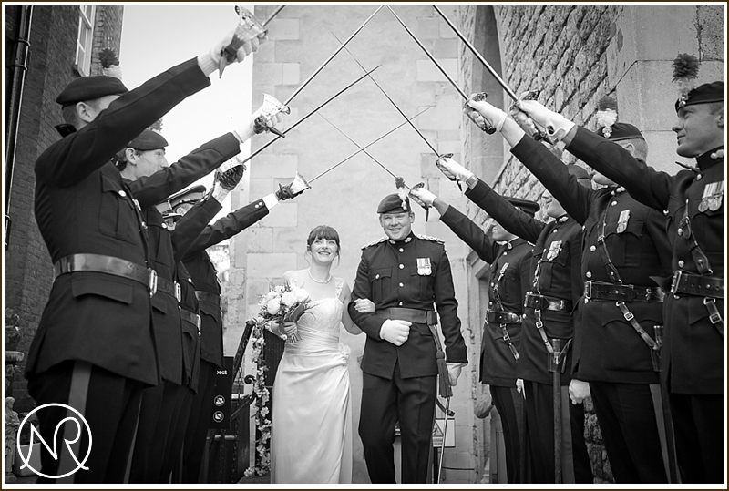 Wedding inside the Tower of London