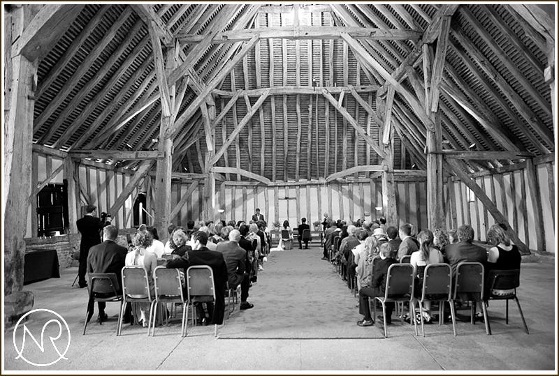 Cressing Temple Barn Wedding