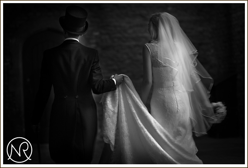 Wedding photography in Hampton Court Palace