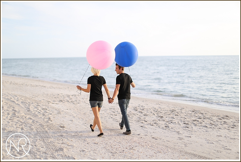 Naples Beach engagement photography Florida 14