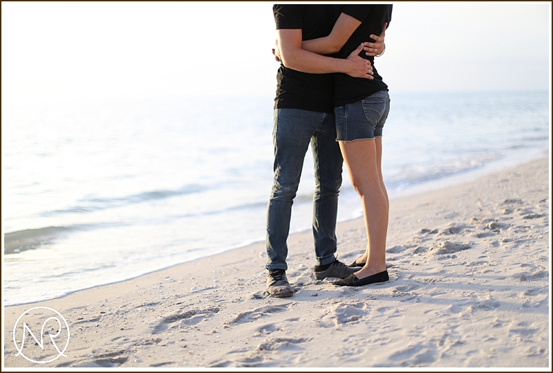 Naples Beach engagement photography Florida 17