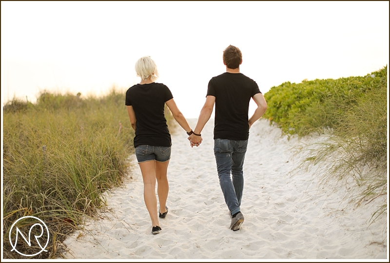 Naples Beach engagement photography Florida 23
