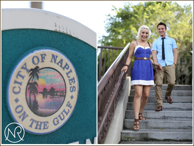 Naples Beach engagement photography Florida 5