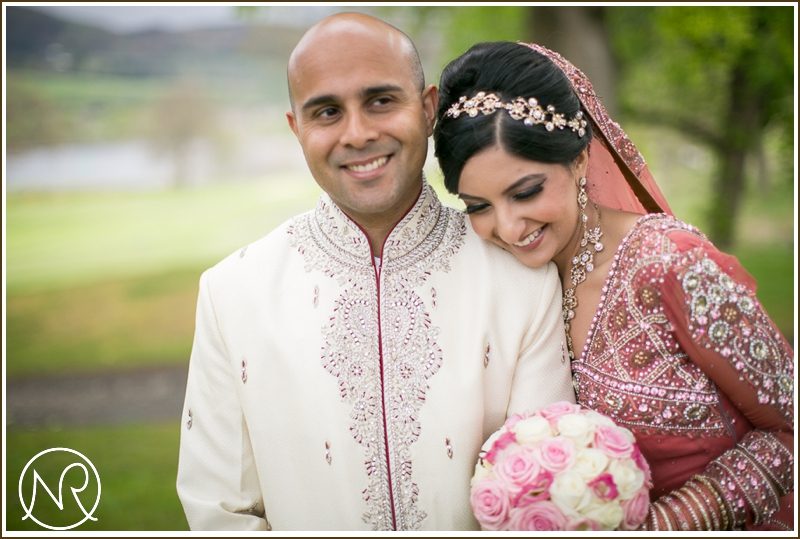 Asian wedding photography Mar Hall Scotland