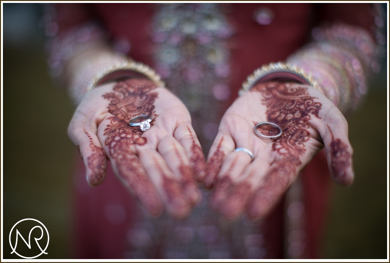 Henna wedding ring