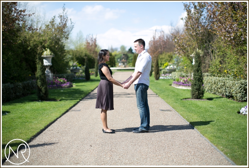 London Engagement Photography Regents Park 1