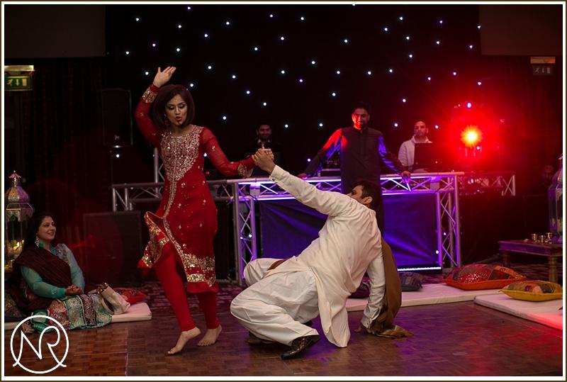 Asian Mehndi Dancing