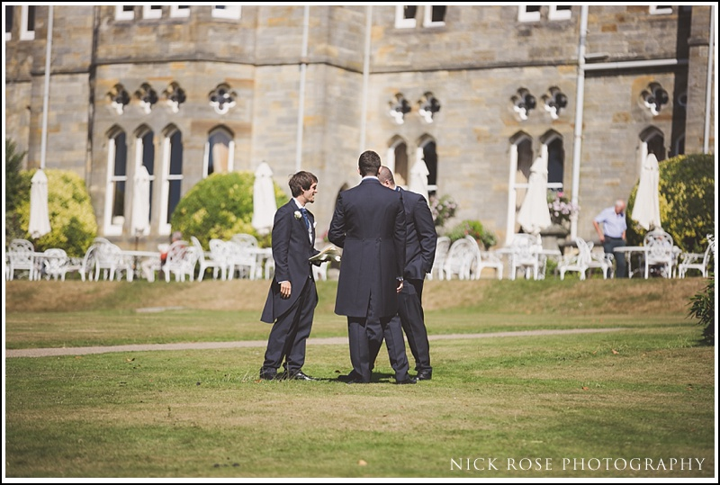 Ashdown Park wedding ceremony