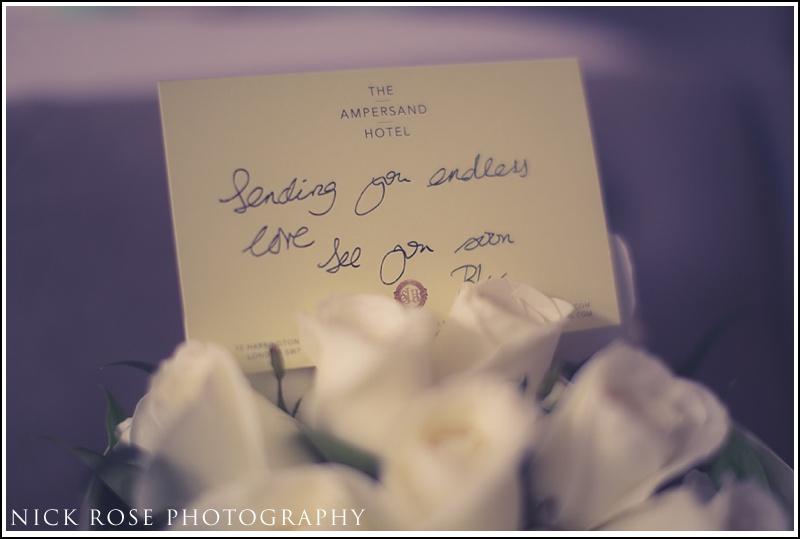 Kensington roof gardens wedding photographer